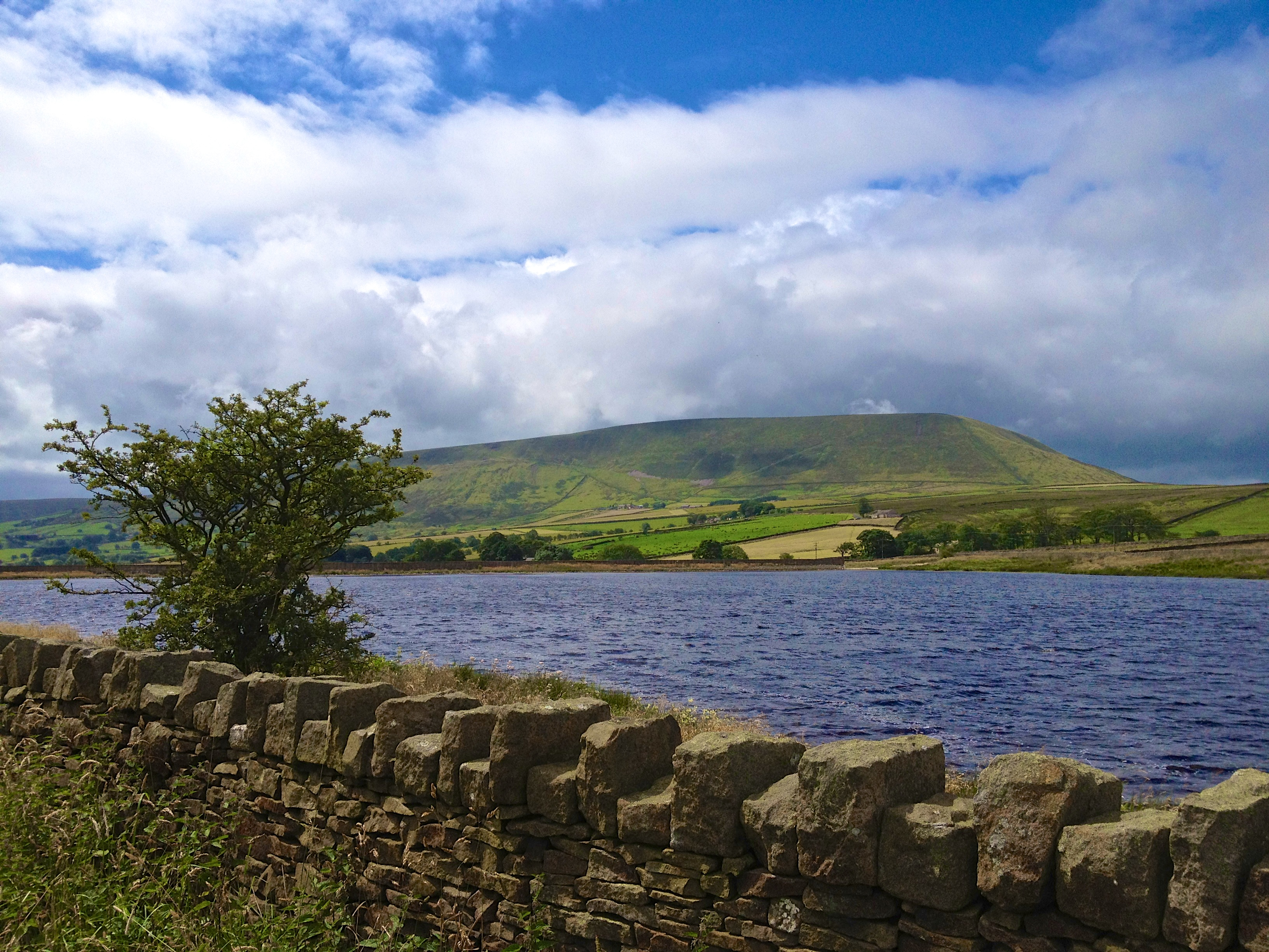 Pendle Hill from Barley