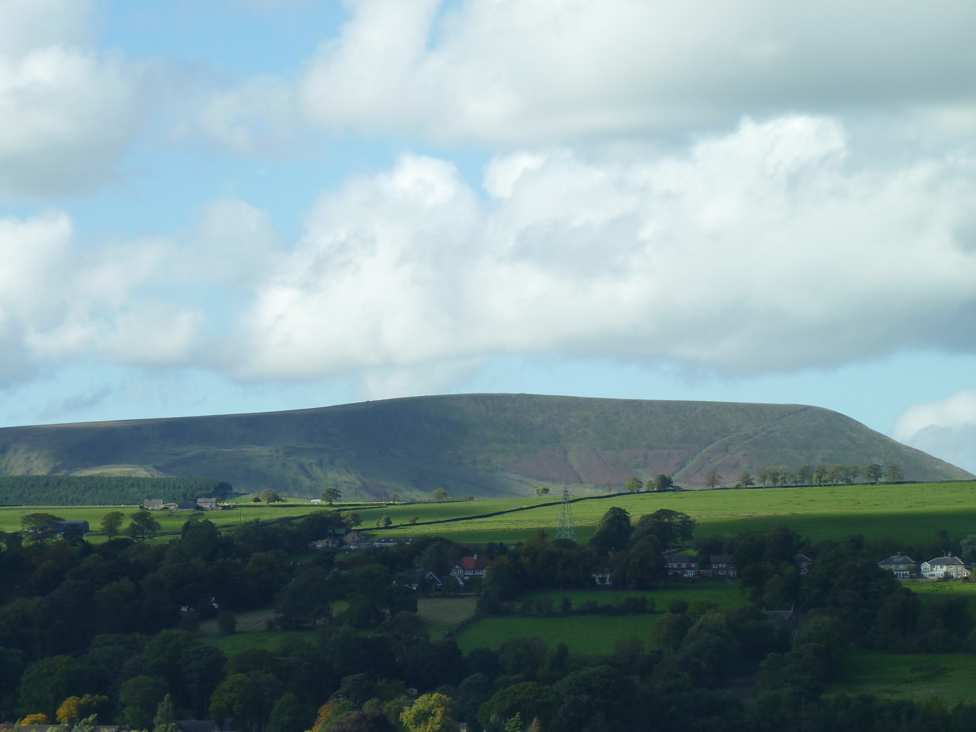 Pendle Hill from the South West Side